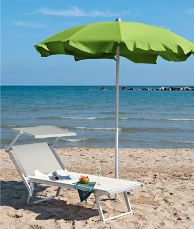 leżak plażowy SMECA