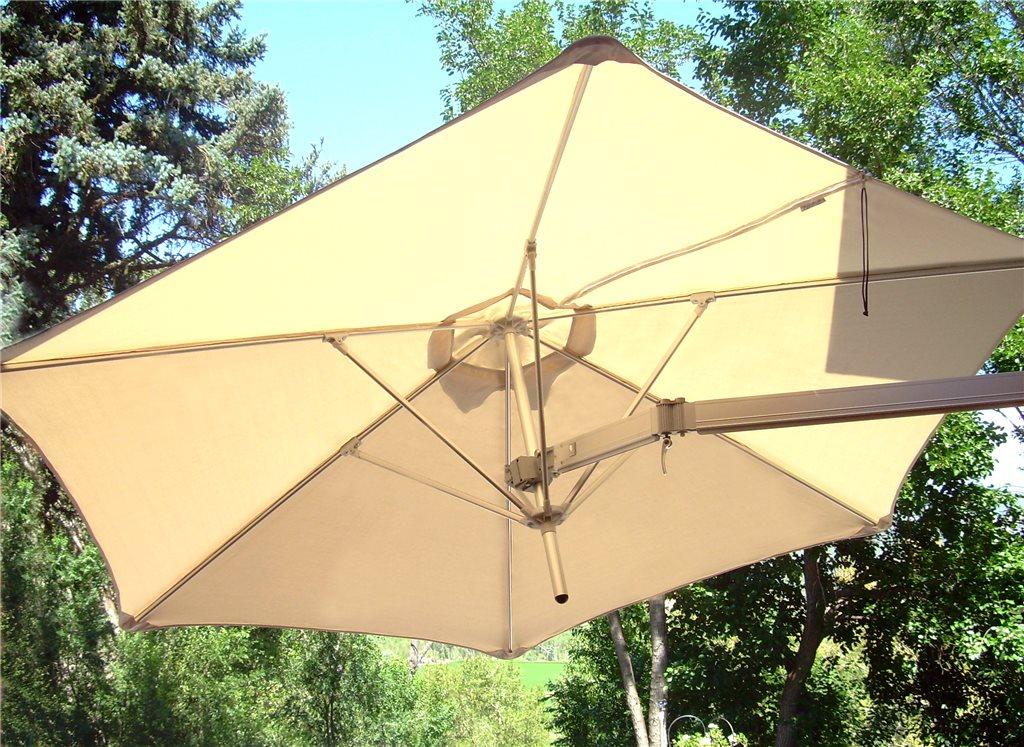 parasol umbrosa paraflex wallflex na balkon