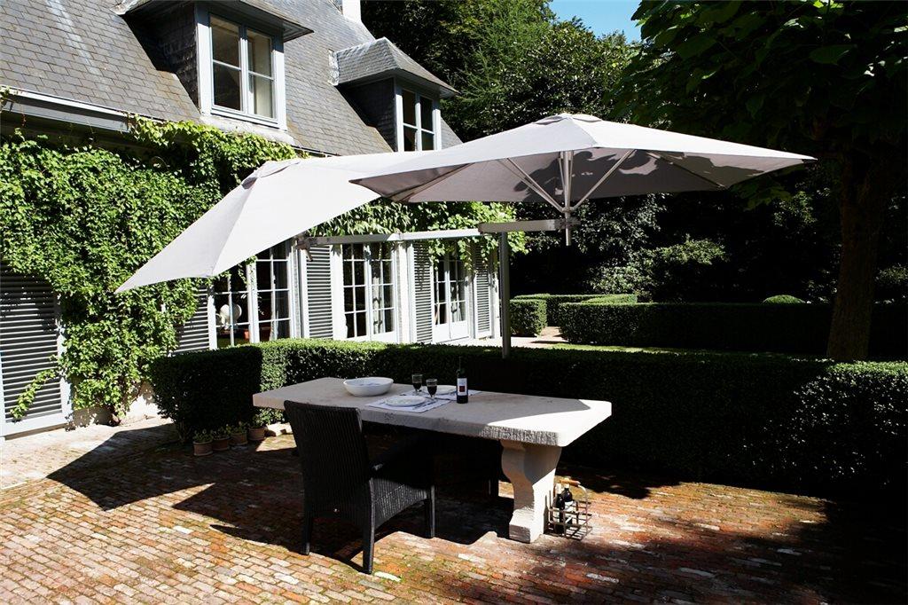 Parasol ogrodowy podwójny Paraflex Duoflex Umbrosa