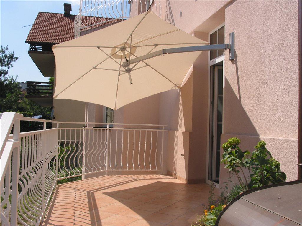 parasol ścienny boczny paraflex wallflex