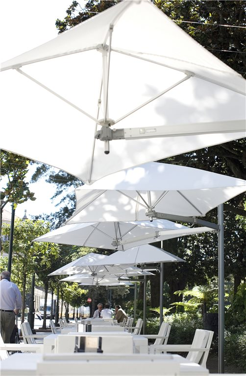 parasol boczny paraflex monoflex umbrosa