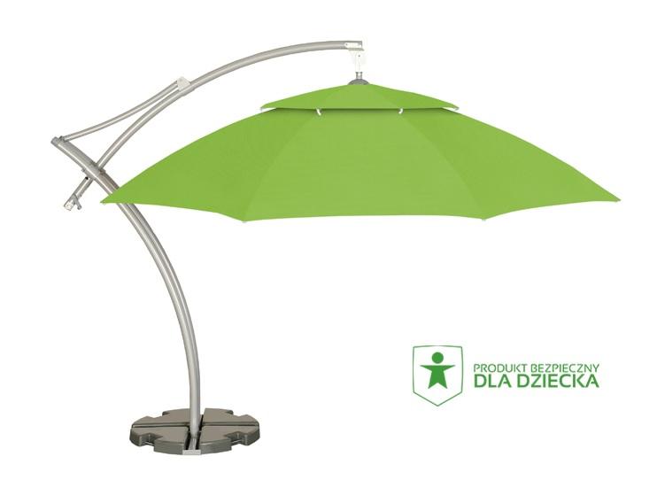 parasol do ogrodu zielony litex ibiza