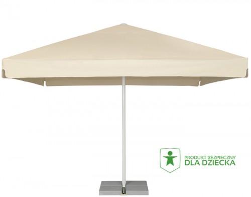 Duży parasol do restauracji 4 x 4 m