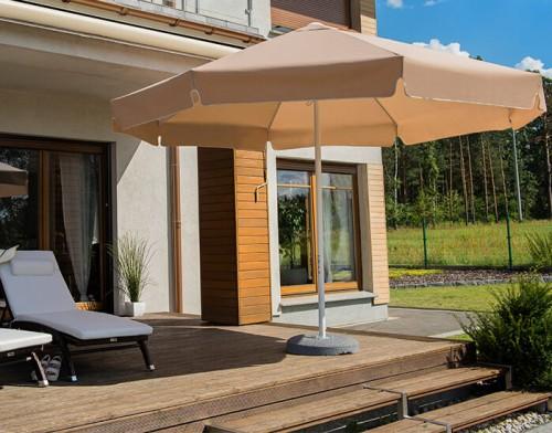 parasol okrągły do ogrodu RODOS 4 m