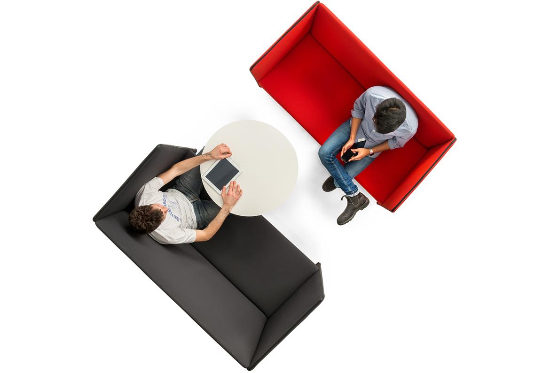 Sofa biurowa tapicerowana Zippo Pedrali