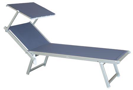 leżak basenowy SMECA aluminiowy
