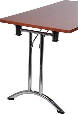 stelaż składany do stołu bankietowego chromowany