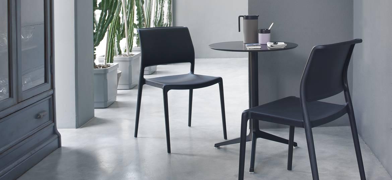 Krzesło z tworzywa do restauracji ARA Pedrali