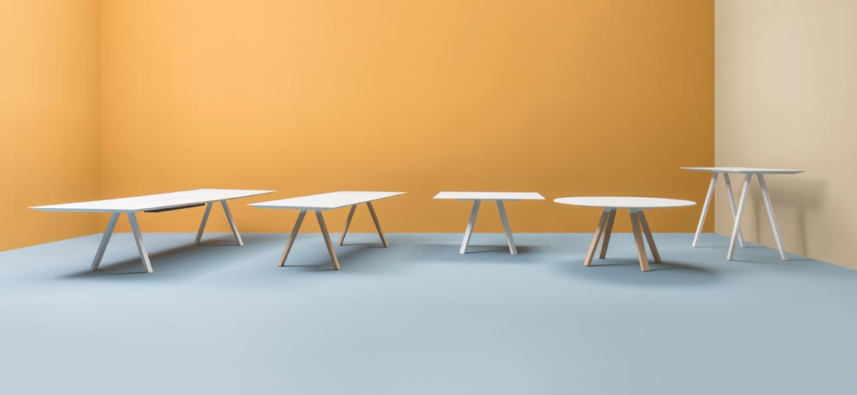 Kolekcja stołów Arki Table Pedrali