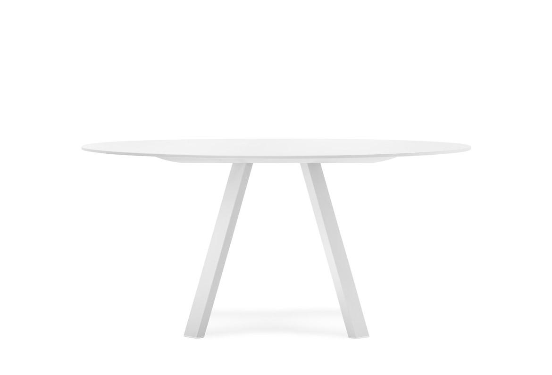 Stół okrągły Arki Table industrialny Pedrali