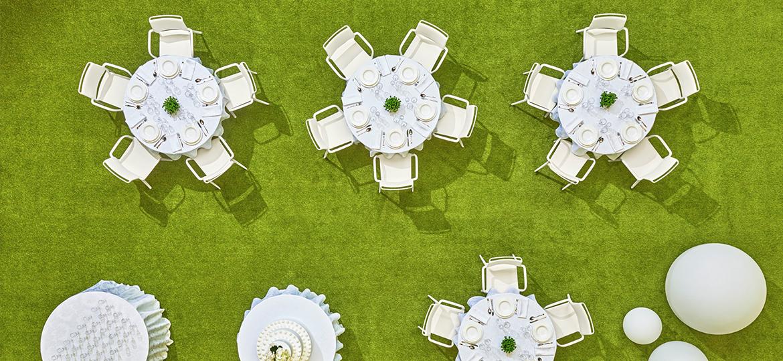 Krzesło eventowe z tworzywa ARA Pedrali
