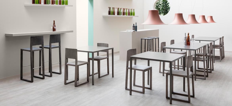 Stół do restauracji metalowy Fabbrico Pedrali