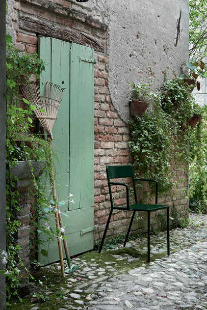 Krzesło metalowe włoskie C1 Colos