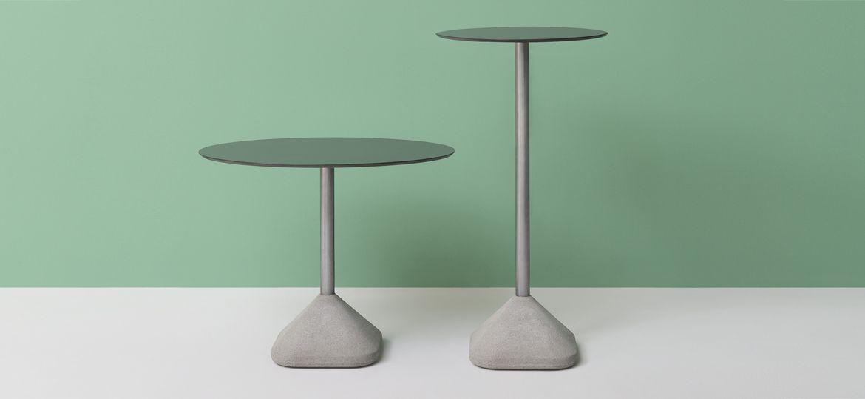 Podstawy stołów z cementową bazą CONCRETE Pedrali