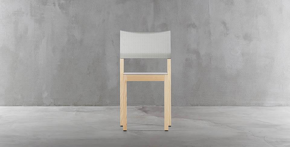 krzesło drewniane doty plank