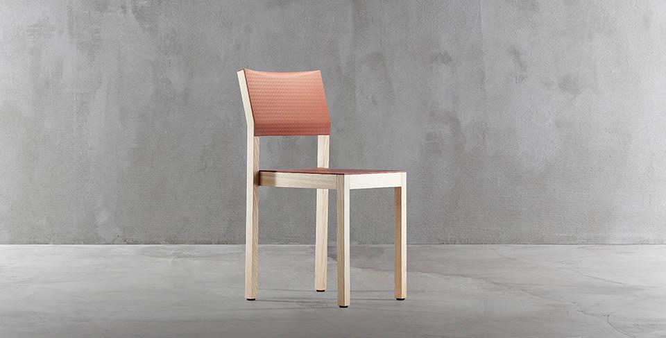 włoskie krzesło drewniane doty plank