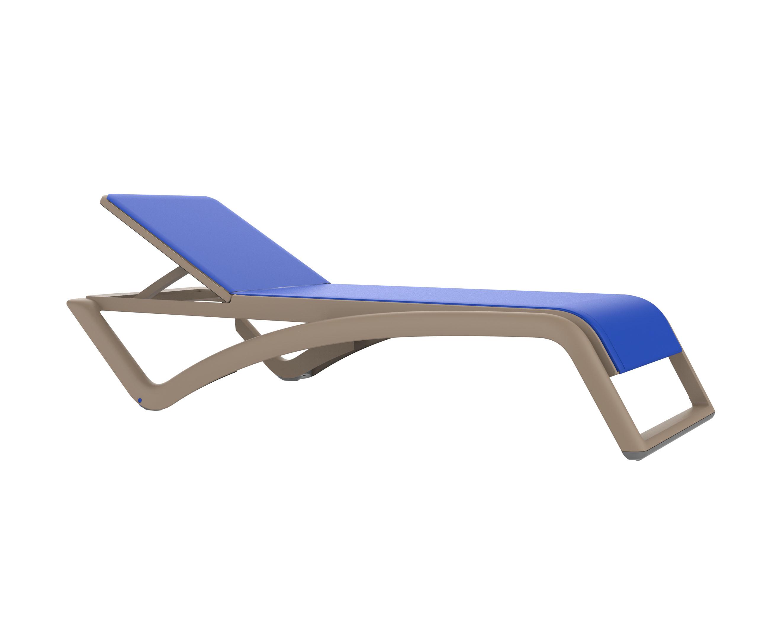 designerski leżak basenowy sky resol