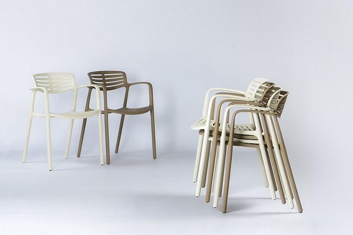 Krzesło do ogródków letnich Toledo Aire Resol