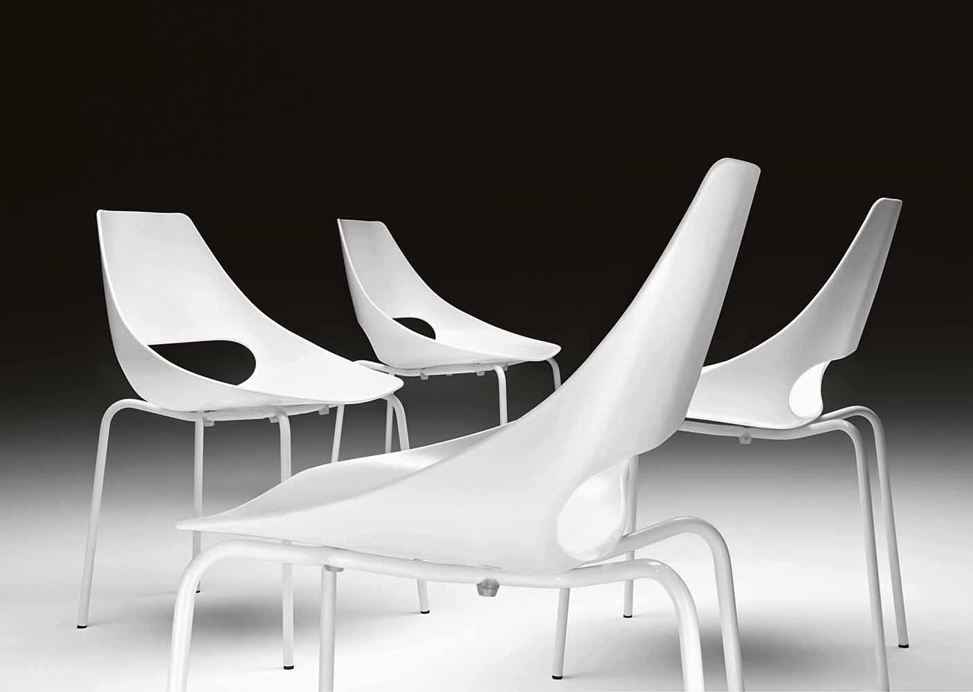 Krzesła ECHO Metalmobil 150 151