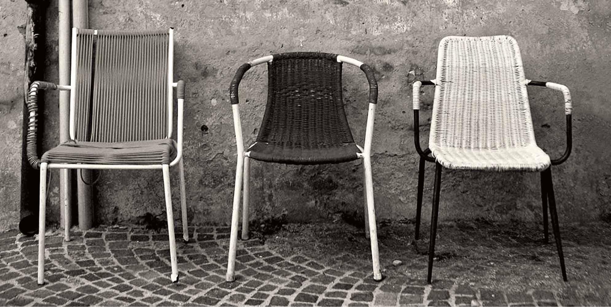 Krzesło kawiarniane do ogródka Filoline 001 Metalmobil
