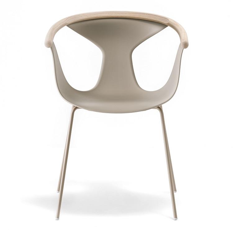 Krzesło beżowe do restauracji FOX Pedrali