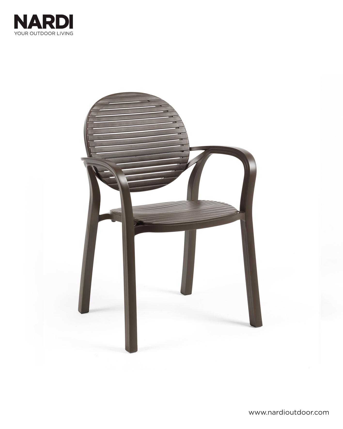 Krzesło ogrodowe na taras Gardenia NARDI