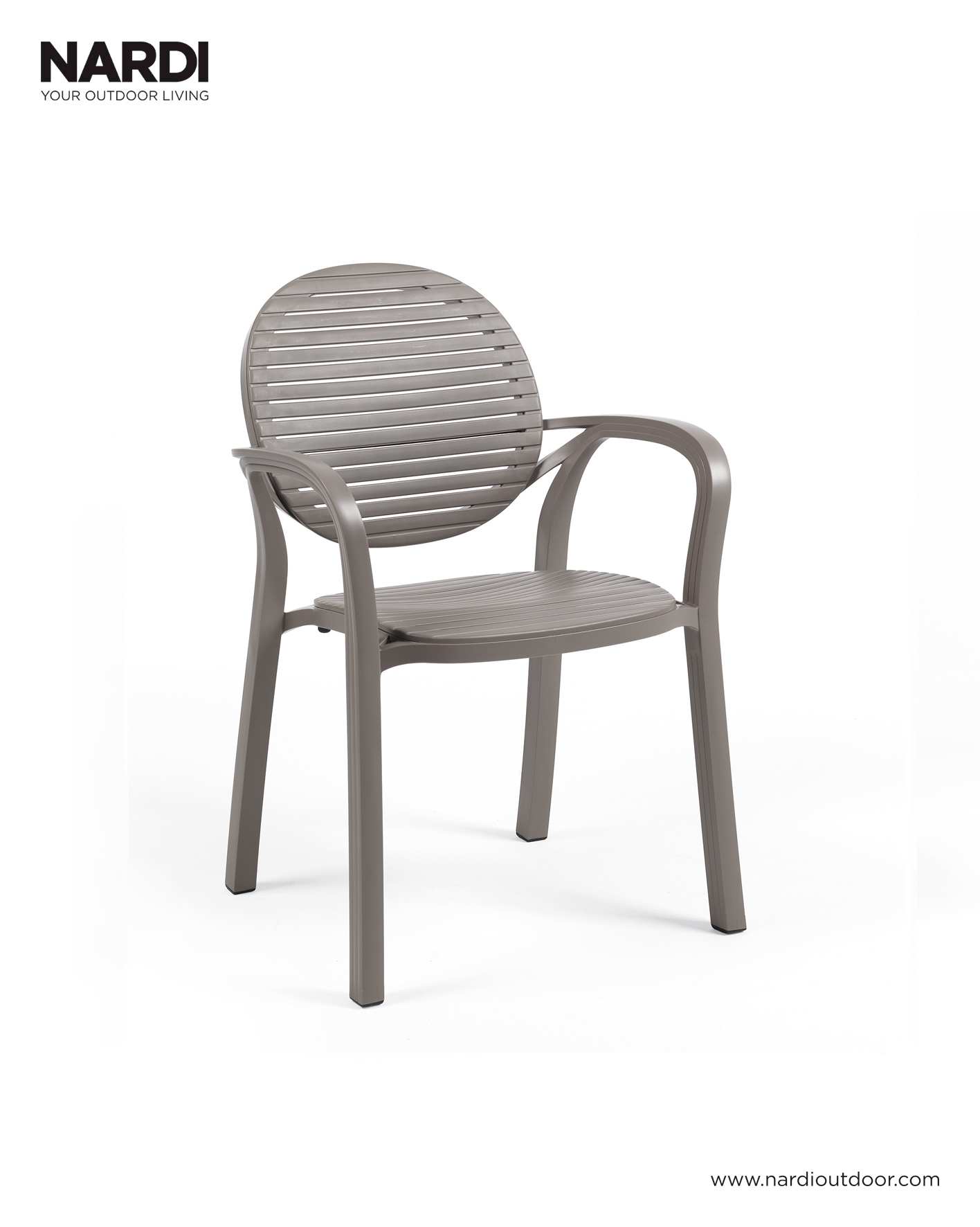 Krzesło GARDENIA Nardi Tortora