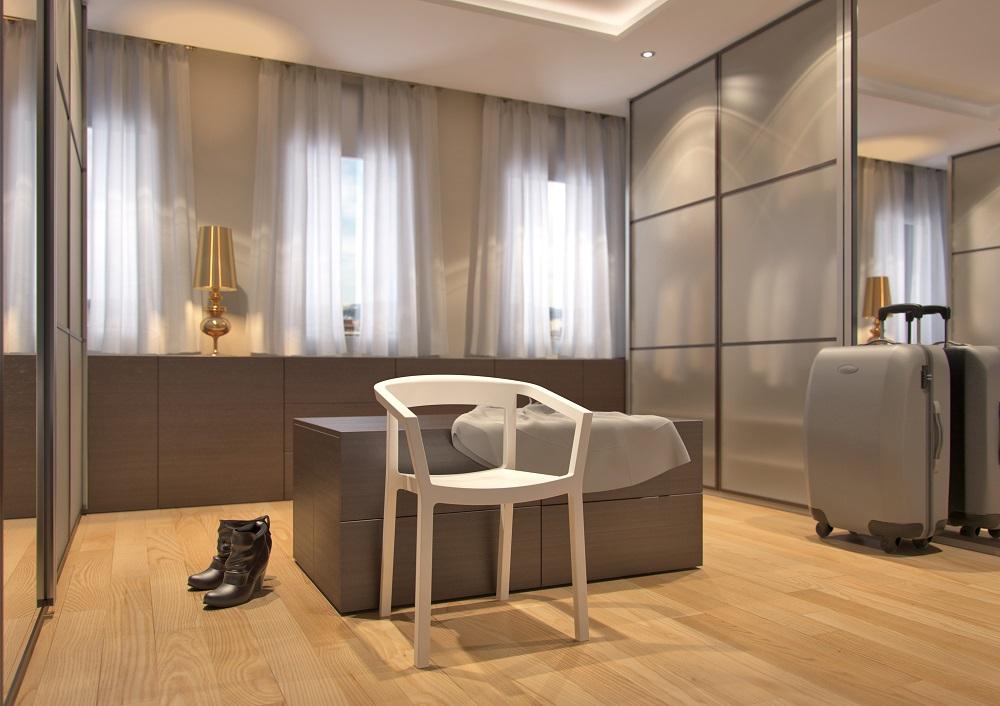 krzesło hotelowe z tworzywa PEACH Resol