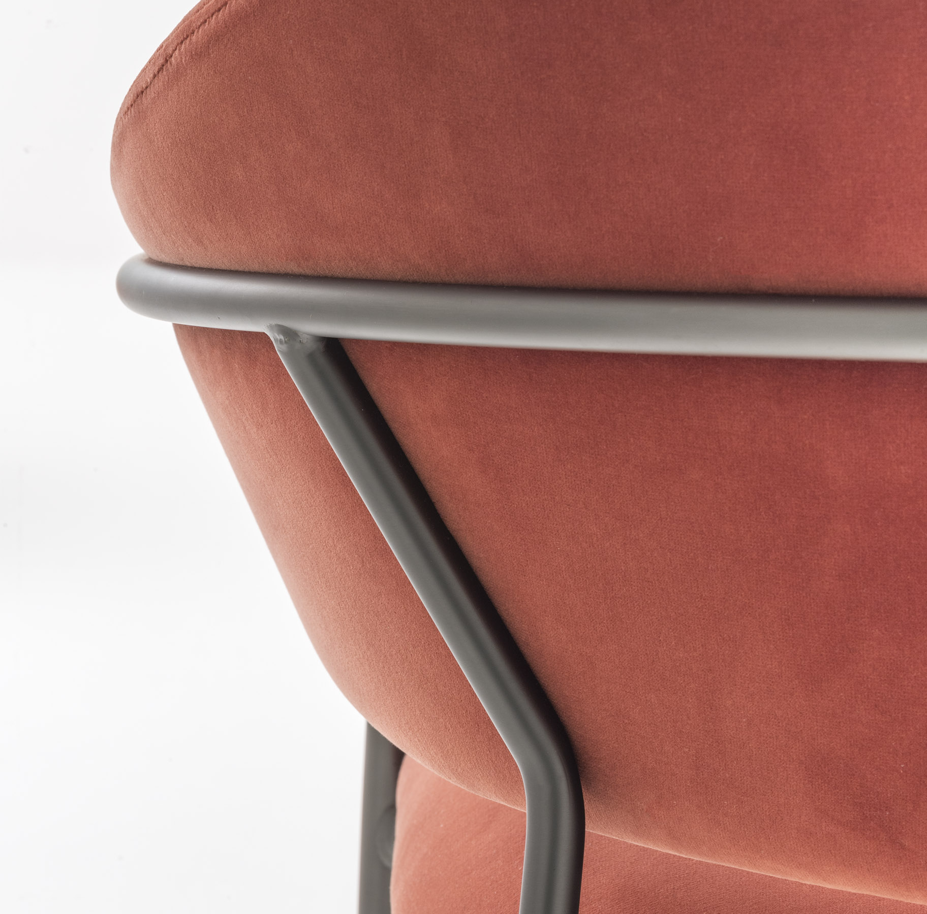 Fotel do restauracji tapicerowany JAZZ 3716 Pedrali