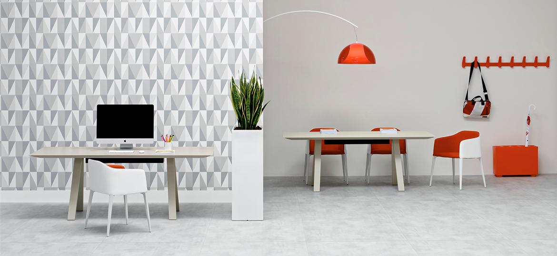 Stół biurowy Arki table Pedrali