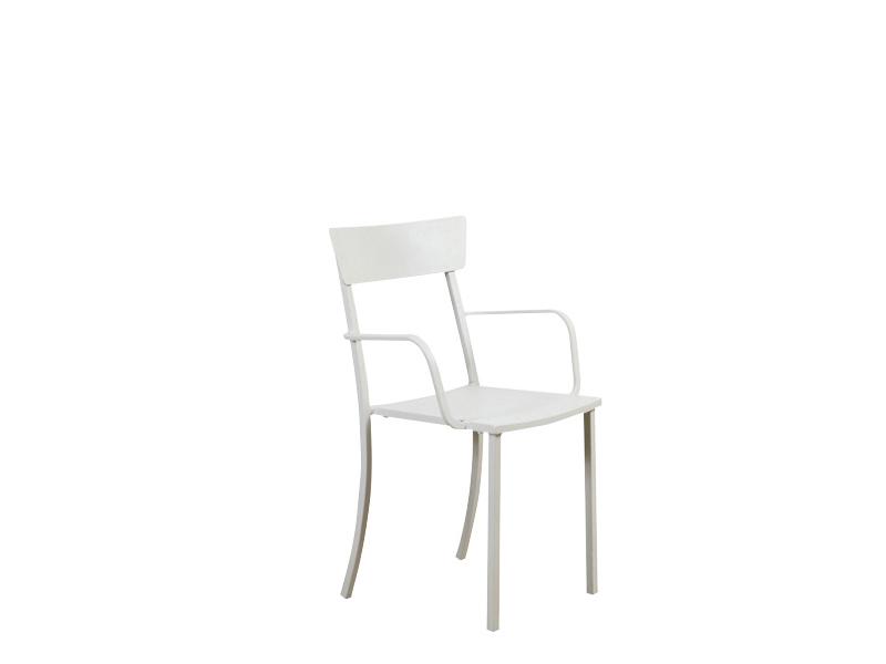 Krzesło Mogan 310 z podłokietnikami do ogrodu Vermobil