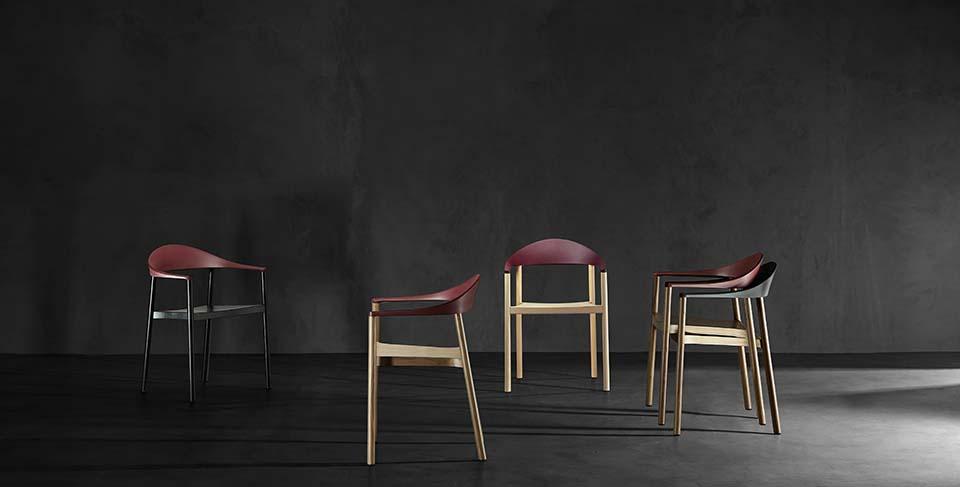 Monza PLANK krzesło do restauracji