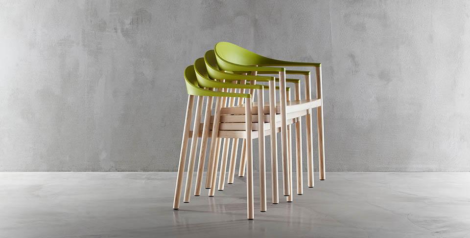 krzesło monza plank włoskie do restauracji