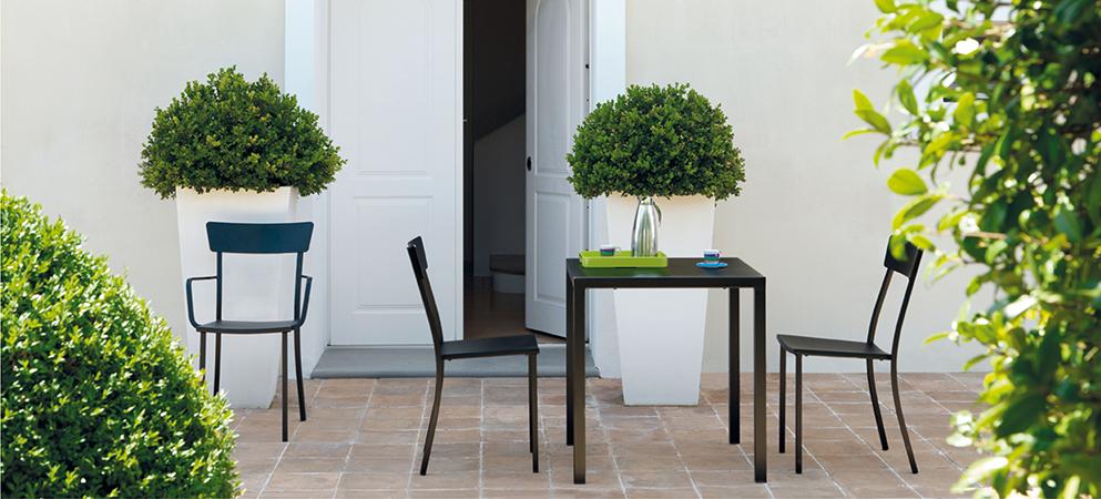 Włoskie krzesło na taras Mogan Vermobil