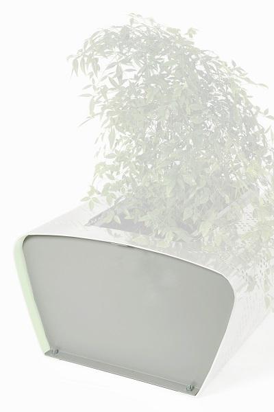 osłona boczna ławki Berta