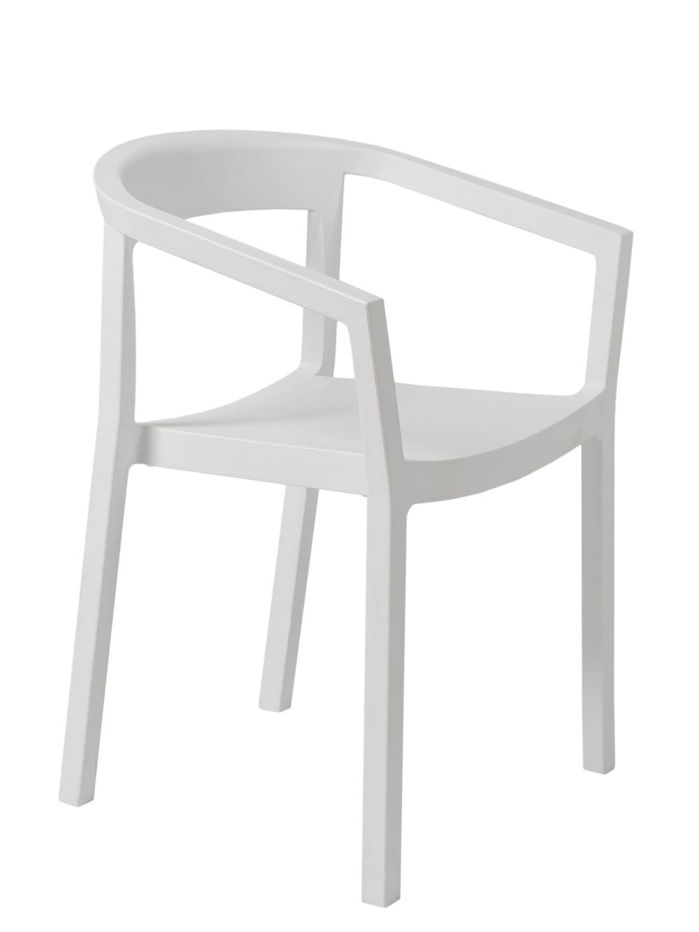 Krzesło Peach Resol białe