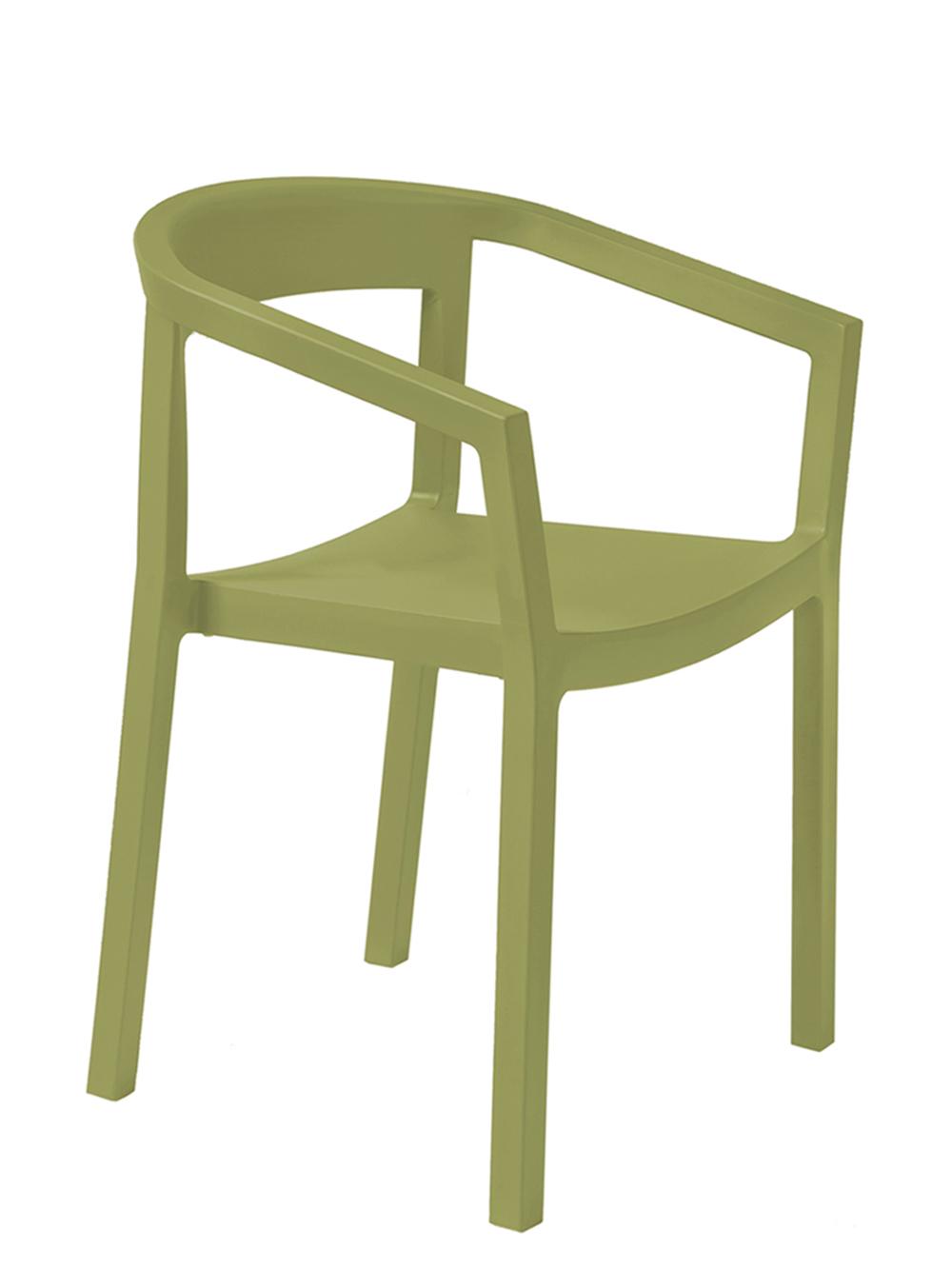 krzesło restauracyjne Peach oliwkowe RESOL
