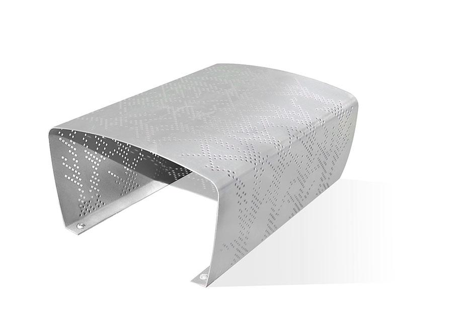 Ławka aluminiowa BERTA zewnętrzna publiczna