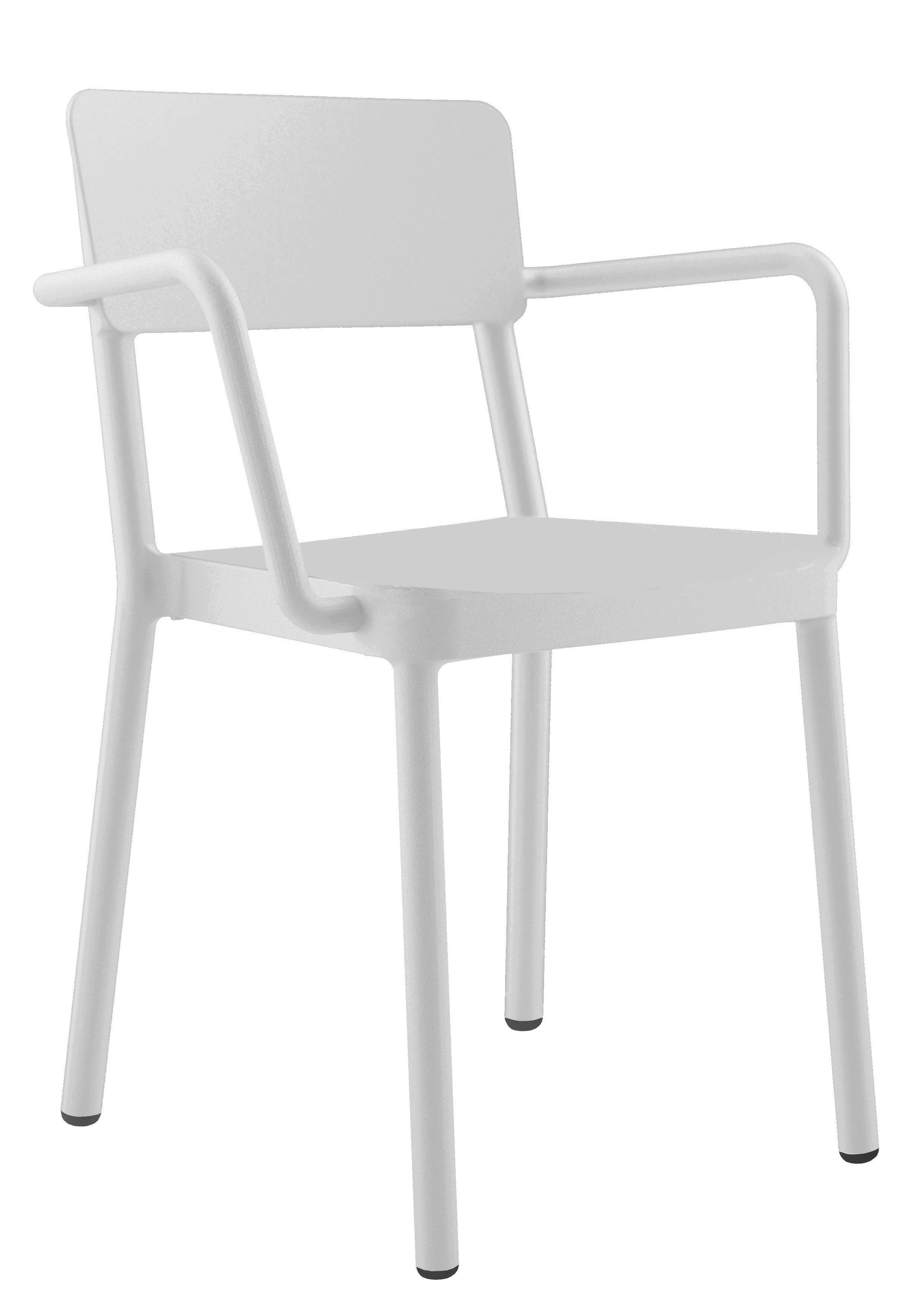 krzesło restauracyjne z podłokietnikami LISBOA z tworzywa