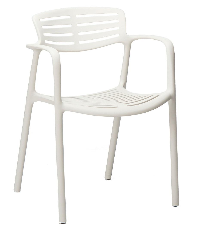 Krzesło TOLEDO Aire Resol BIAŁE