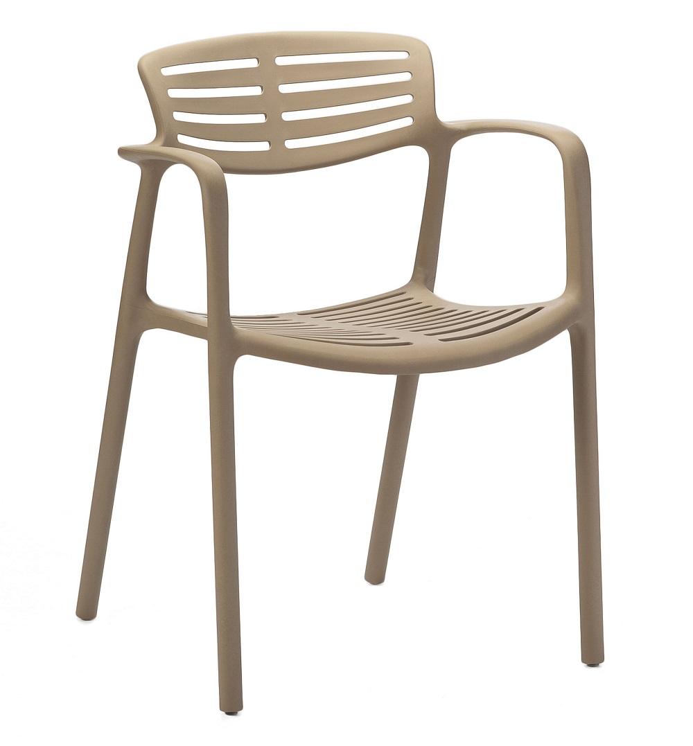 Krzesło piaskowe Toledo zewnętrzne RESOL