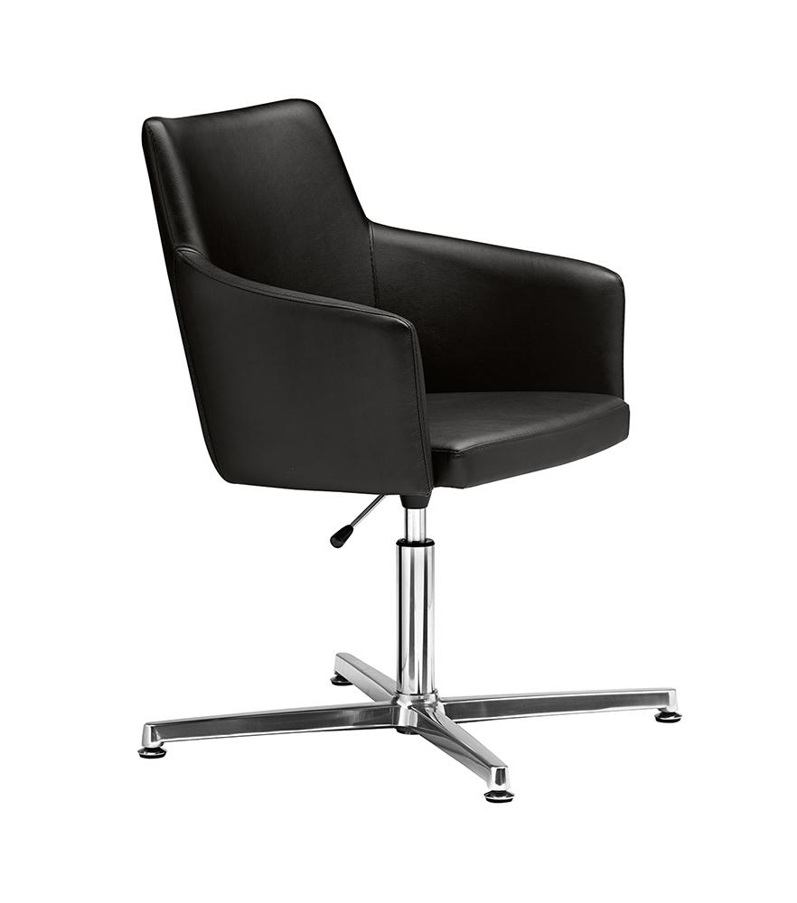 Fotel konferencyjny z regulacją wysokości Marka Metalmobil