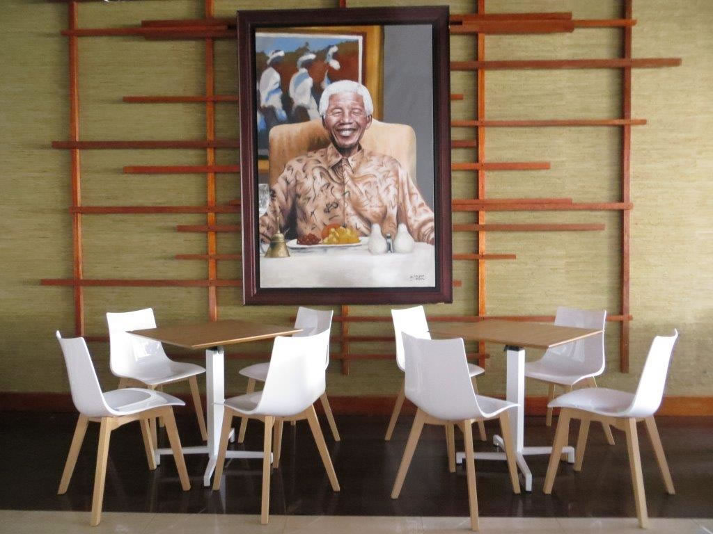 krzesła do kawiarni Zebra Natural Scab Design