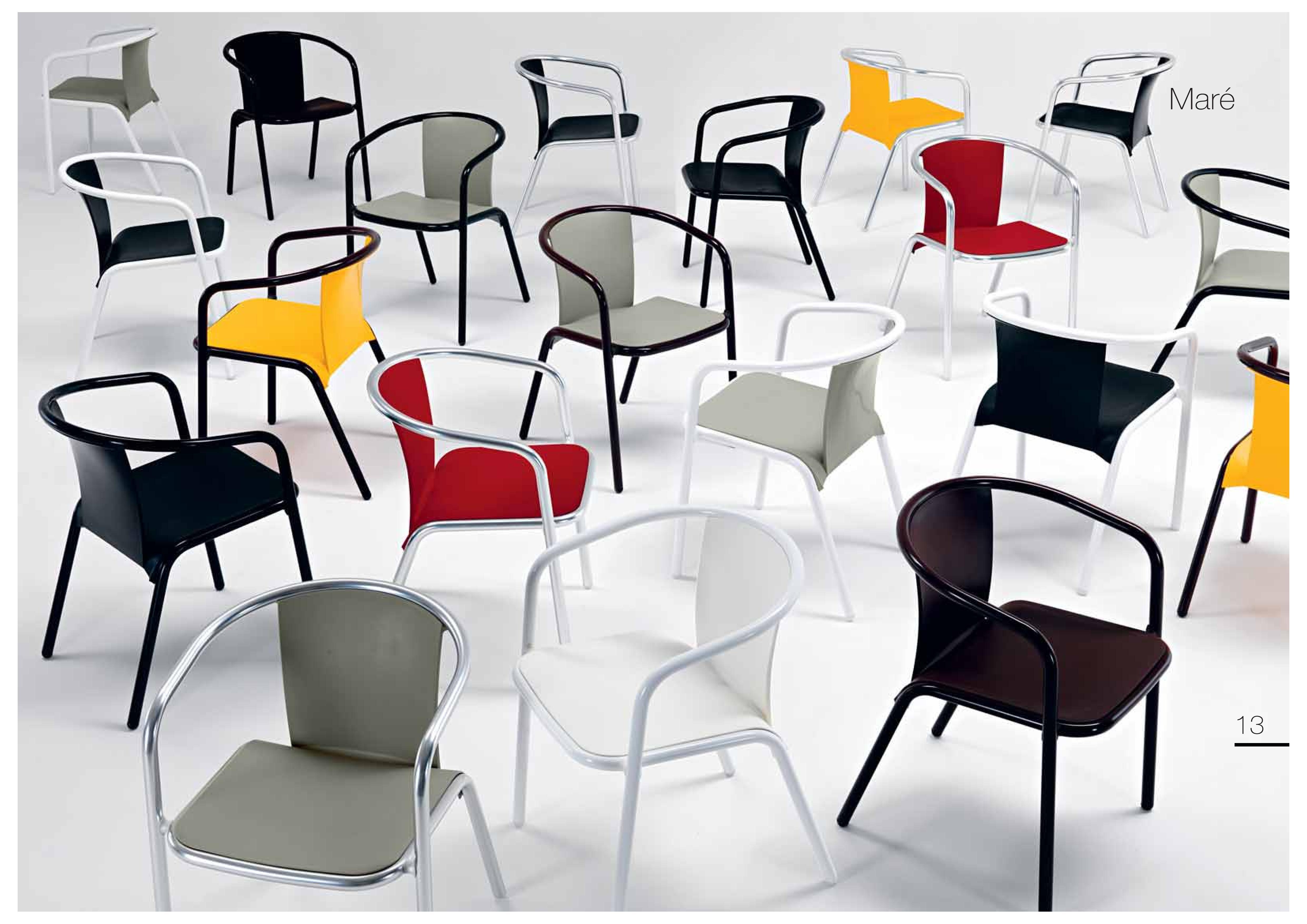 krzesła mare metalmobil