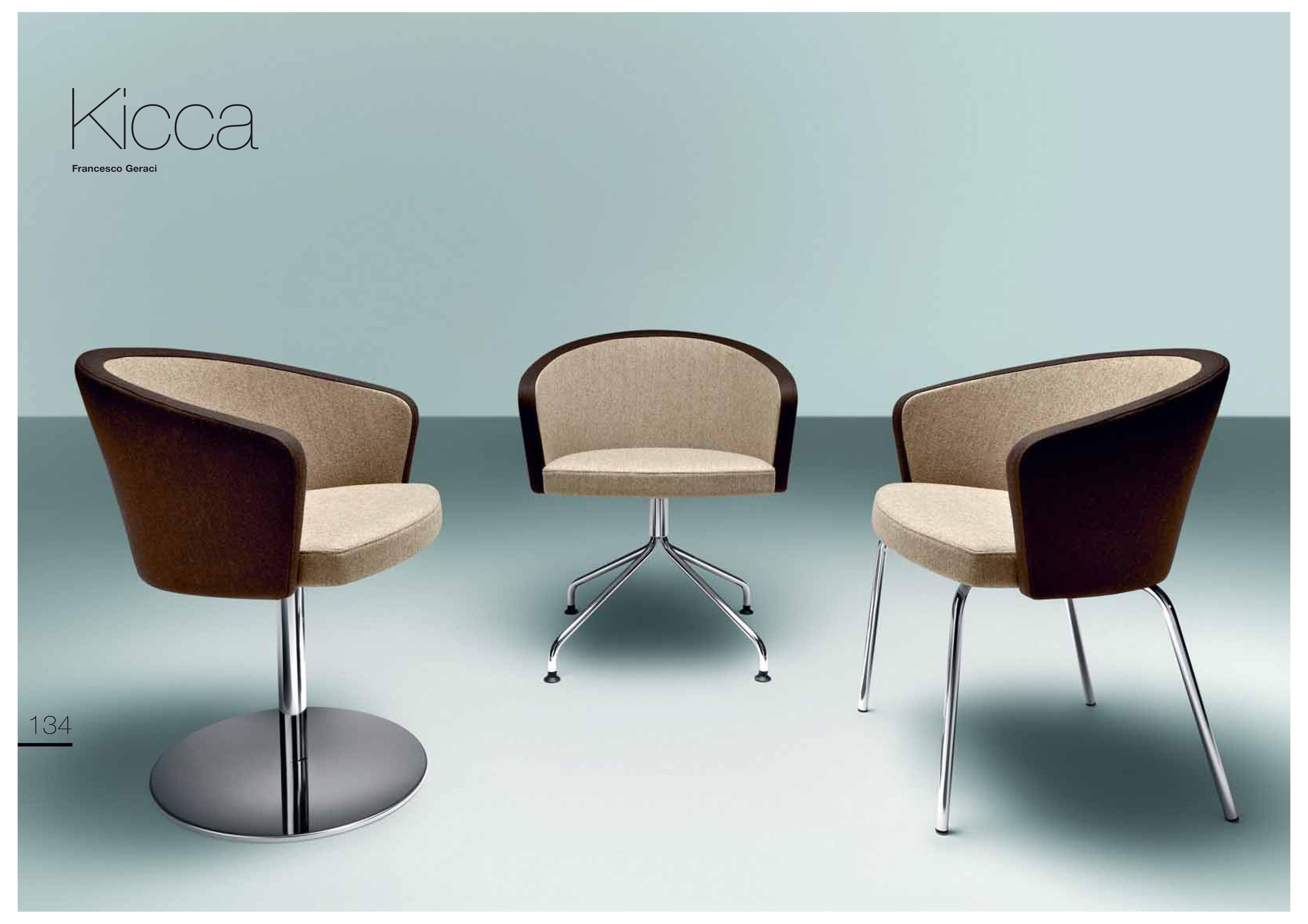 Fotel tapicerowany Kicca Metalmobil