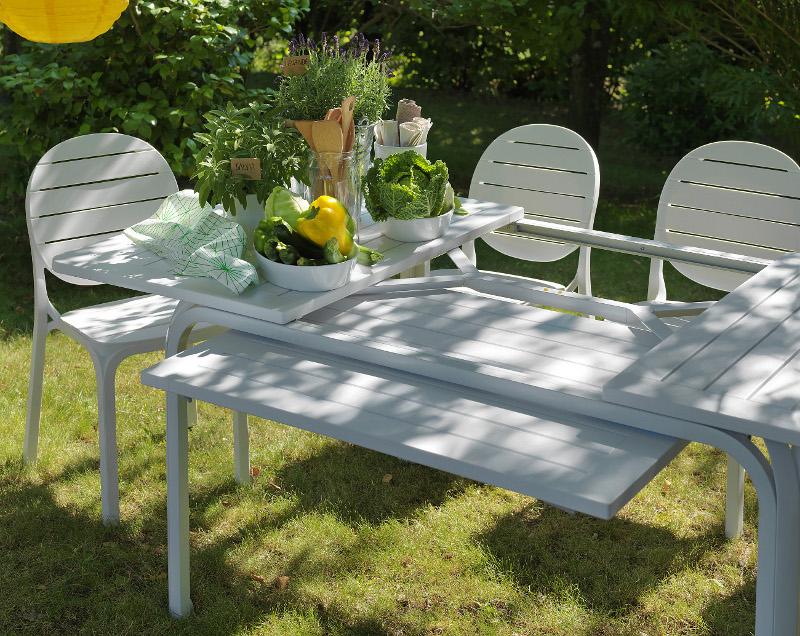 Krzesło na taras białe Erica Nardi
