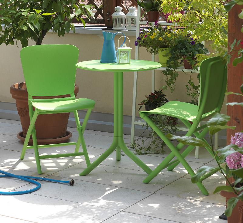 Stolik Spritz zielony Nardi