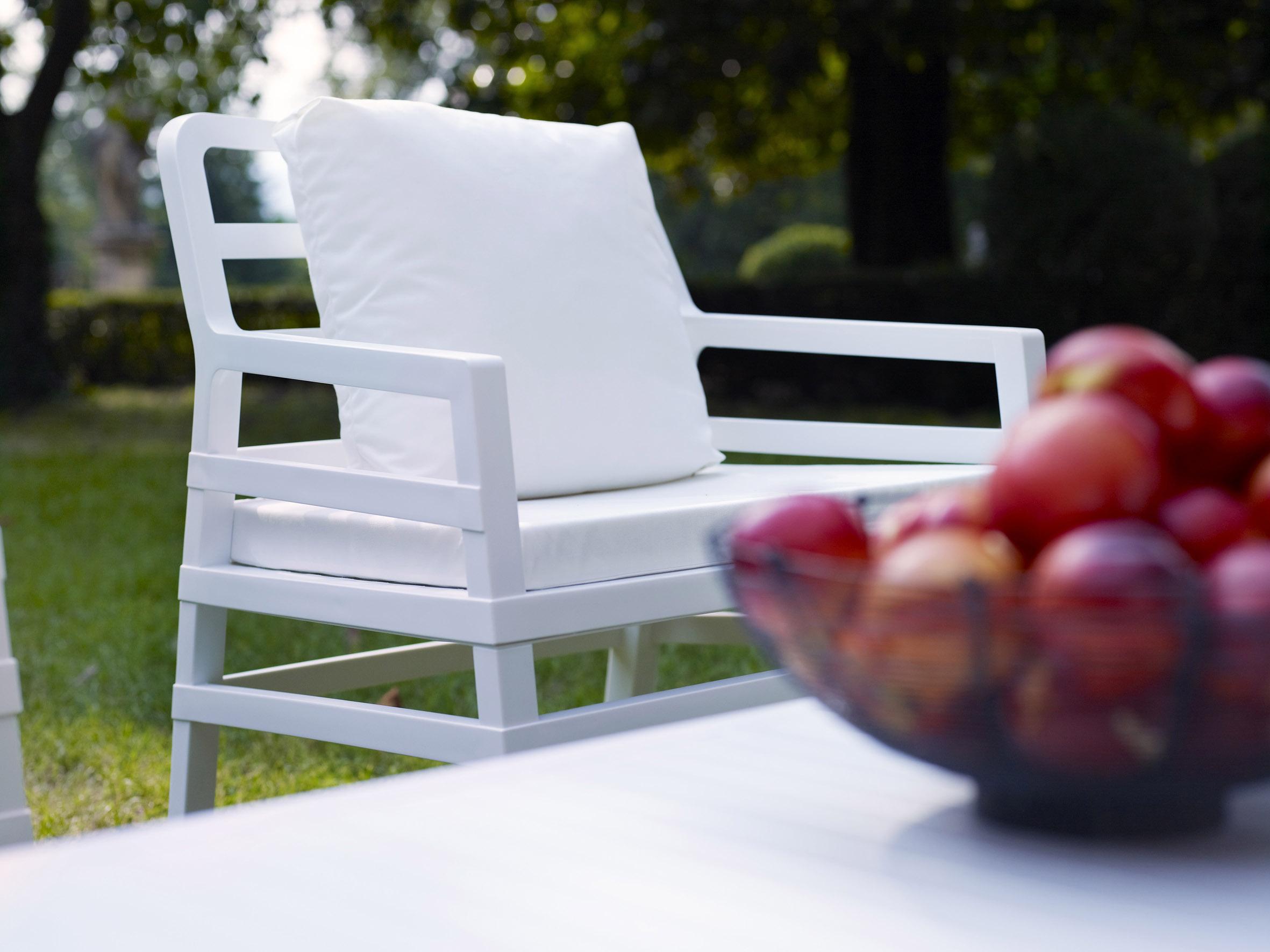 Biały stolik Aria 100