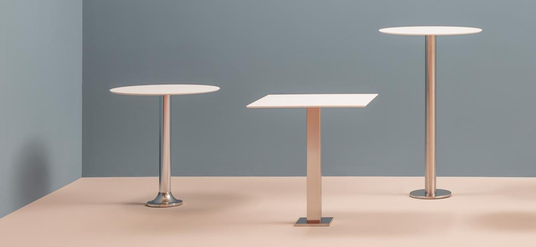 Podstawy stołów montowane do ziemi