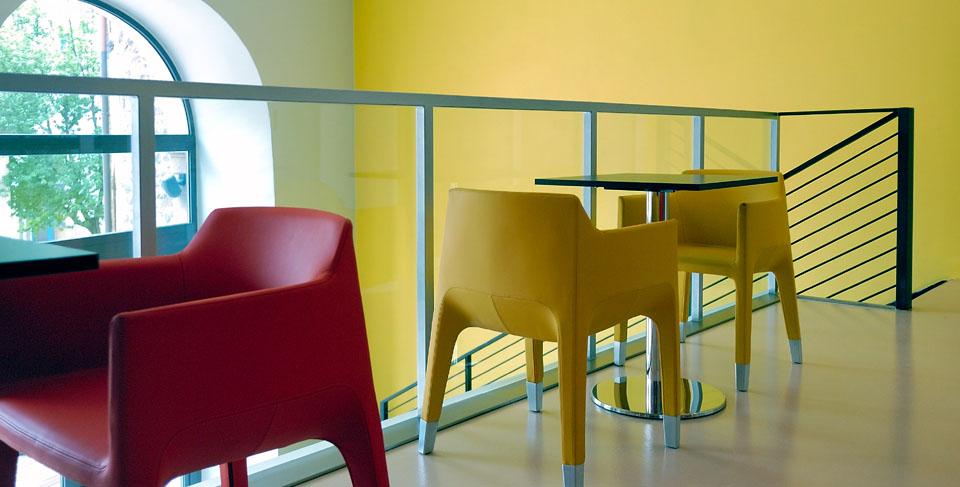 Włoski fotel designerski MON AMI Plank